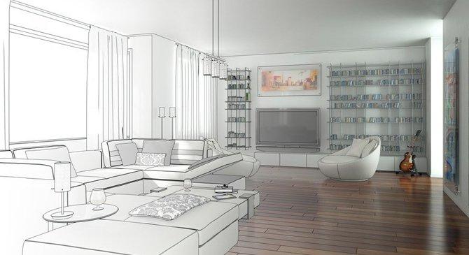 Ремонт квартир с 3д-визуализацие