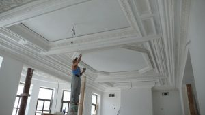 Ремонт и отделка потолка