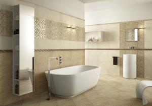 Цена работы по укладке плитки в ванной