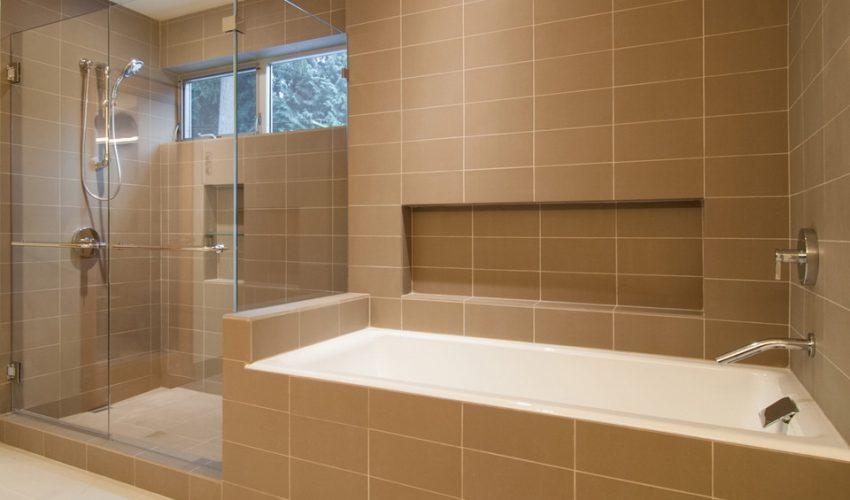 Ванная комната, укладка плитки