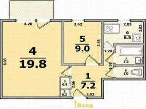 Капитальный ремонт в 2 комнатной квартире