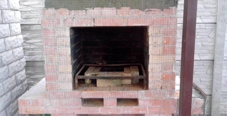 Ремонт камина и бани