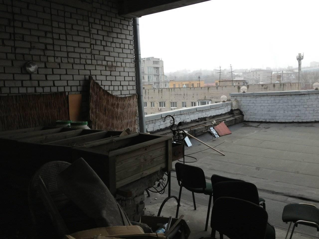 Создание квартиры на крыше