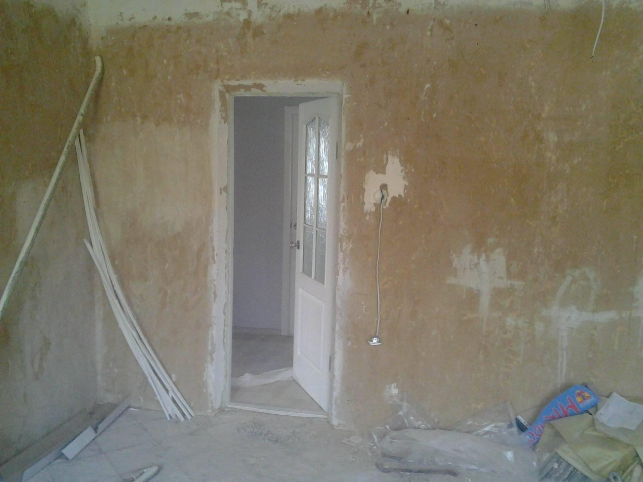 Ремонт комнаты в доме