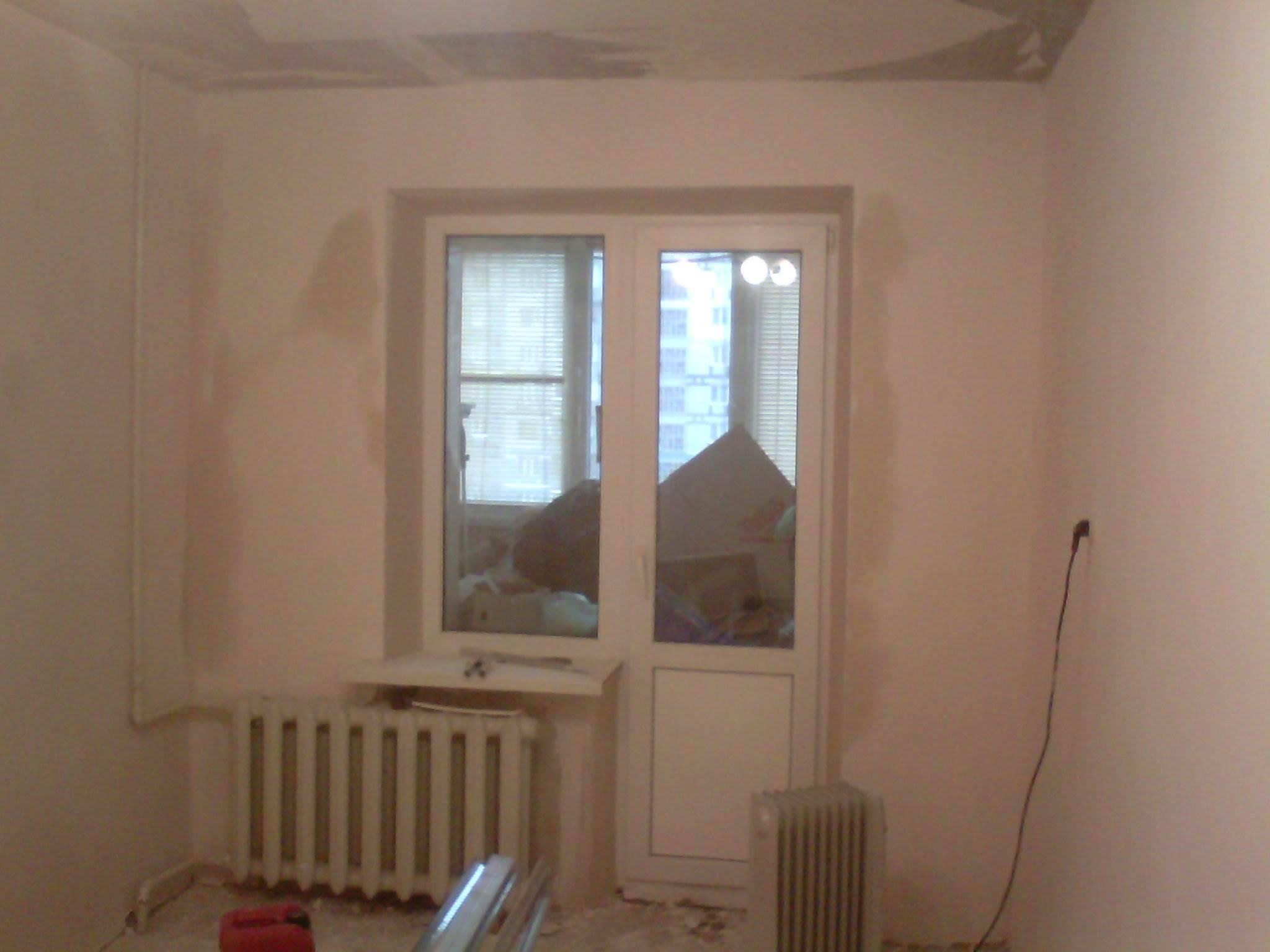 Капитальный ремонт в 3к квартире