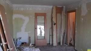 Капитальный ремонт в 1к квартире