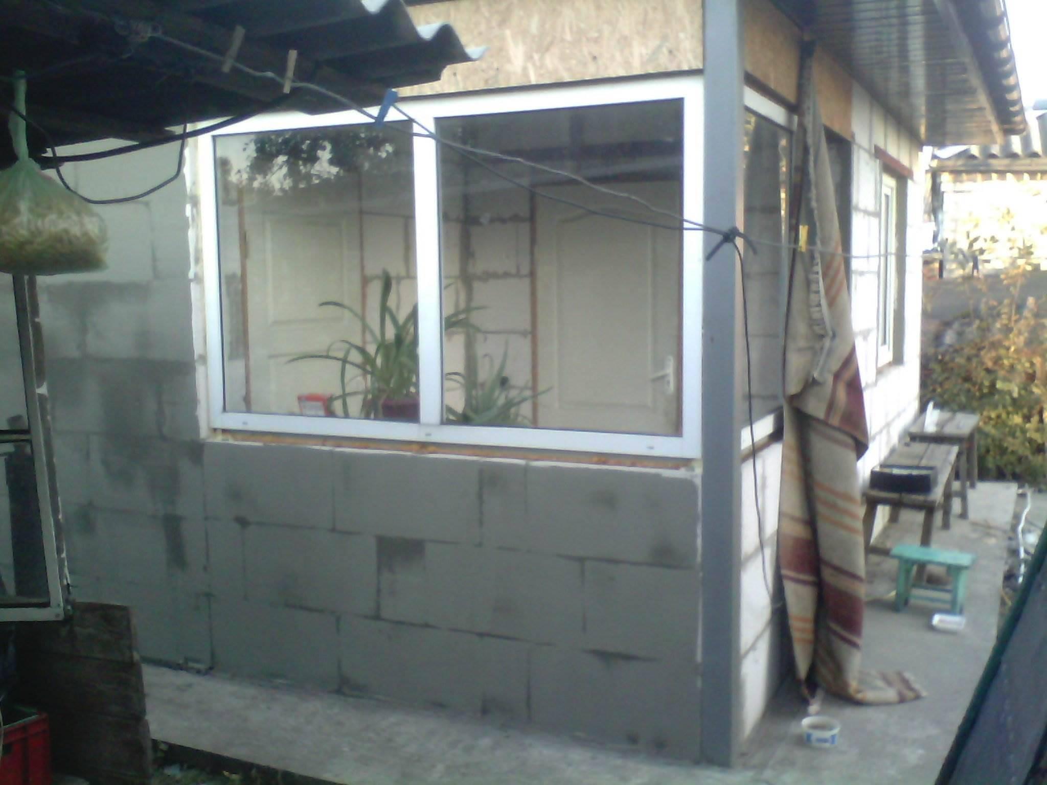 Работы внутри и на фасаде