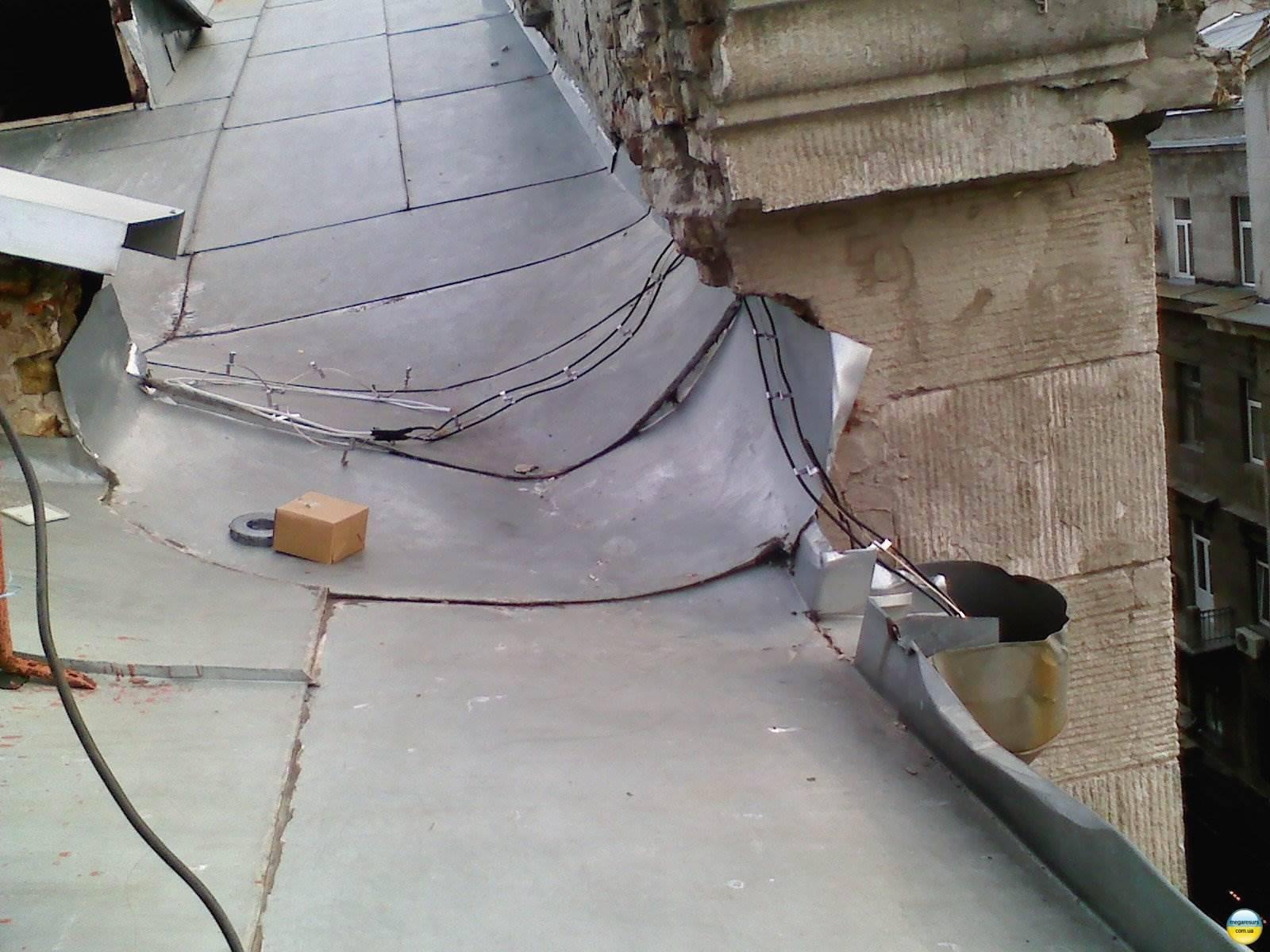 Система антиобледенения на крыше