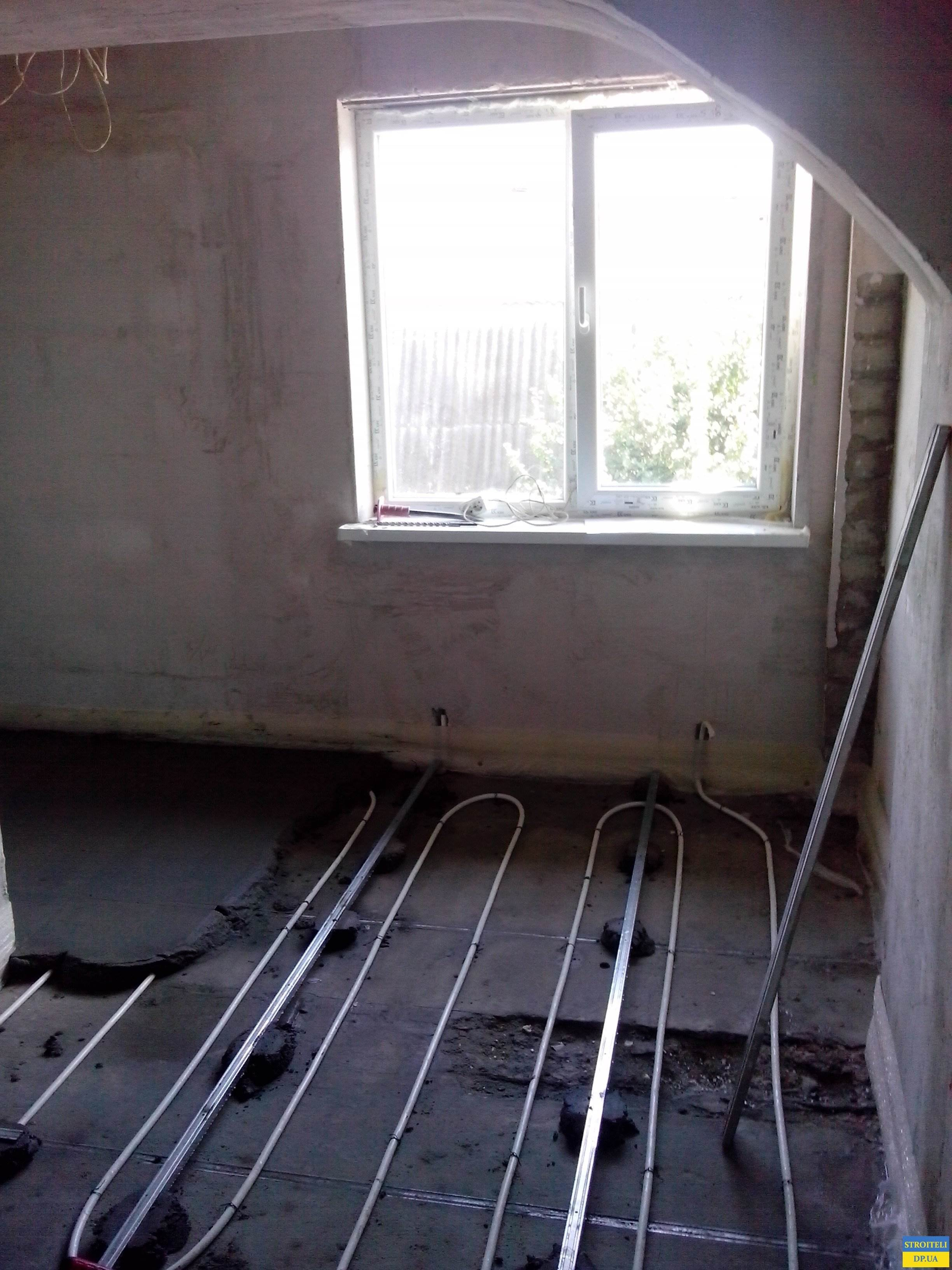 Теплый пол в спальной комнате
