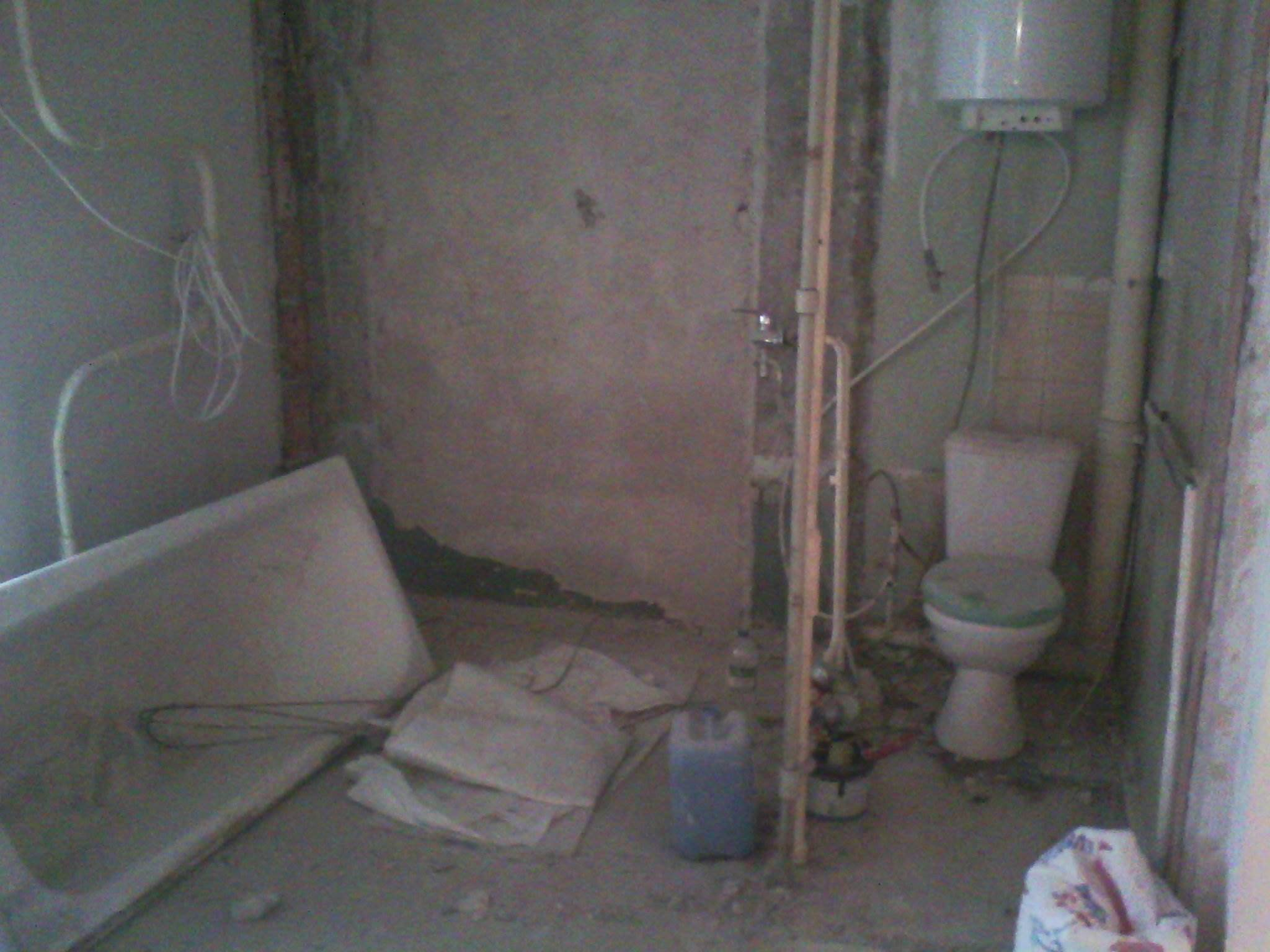 Капитальный ремонт в ванной