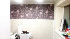 Ремонт в комнате кухне