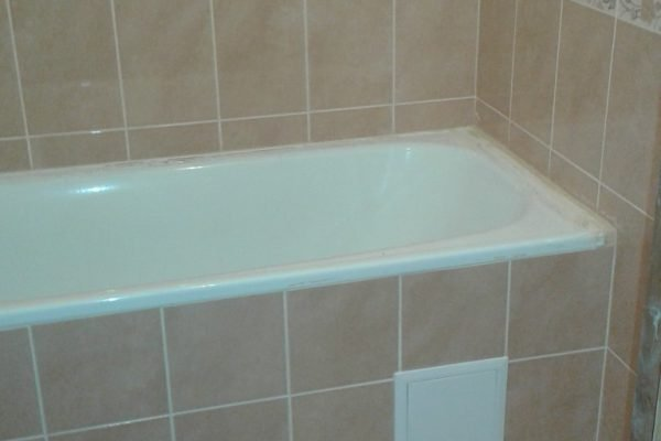 Ремонт в ванной санузле под ключ
